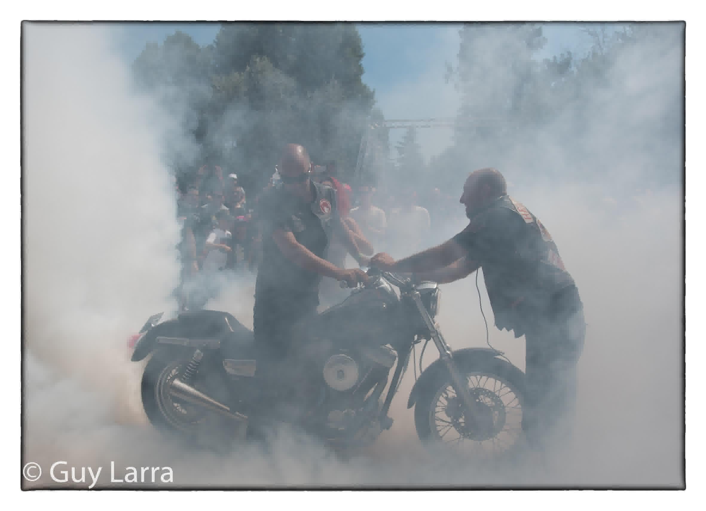 Hellsweek2018 guy larra chopperstyle burn 727